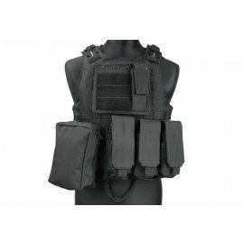 Kamizelka taktyczna typu AAV FSBE - czarna