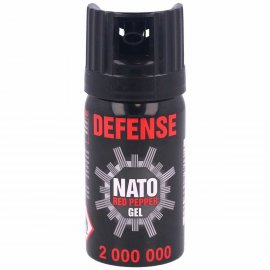 Gaz pieprzowy Sharg Nato Defence Gel 2mln Cone 40m