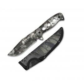 nóż taktyczno - bushcraftowy K25 Kryptek Typhoon