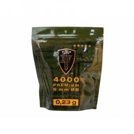 Kulki 6mm ASG Elite Force Premium 0,23 g 4000 szt.