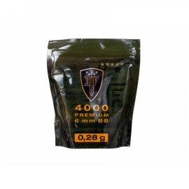 Kulki 6mm ASG Elite Force Premium 0,28 g 4000 szt.