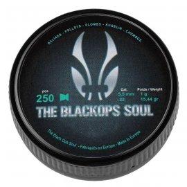 Śrut diabolo match Black Ops 5,5 mm 250 szt