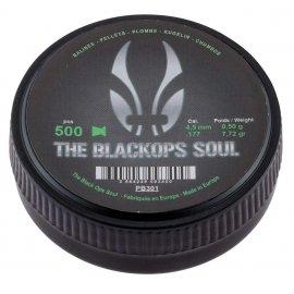 Śrut diabolo match Black Ops 4,5 mm 500 szt