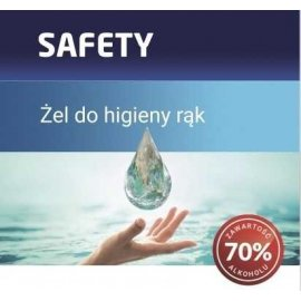 Żel dezynfekujący do rąk 70% alkoholu PRO-CHEM SAFETY 100 ml PC401