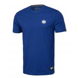 Koszulka Pit Bull Small Logo '21 - Niebieska