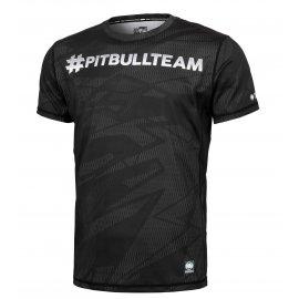 Rashguard termoaktywny Pit Bull Performance Pro Plus Mesh Hashtag '21 - Czarny