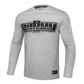 Koszulka z długim rękawem Pit Bull Classic Boxing '21 - Szara