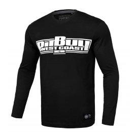 Koszulka z długim rękawem Pit Bull Classic Boxing '21 - Czarna