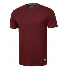 Koszulka Middleweight Pit Bull No Logo '21 - Bordowa