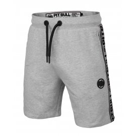 Szorty Pit Bull French Terry Small Logo '21 - Szare