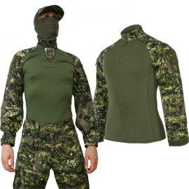 Bluza Combat Shirt w najnowszym polskim kamuflażu MAPA B  CS-01