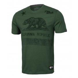 Koszulka Pit Bull California '21 - Ciemnozielona