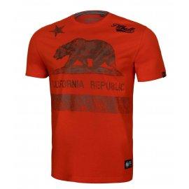Koszulka Pit Bull California '21 - Pomarańczowa