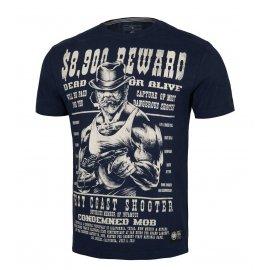 Koszulka Pit Bull Garment Washed Reward '21 - Granatowa