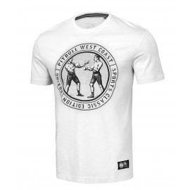 Koszulka Pit Bull Garment Washed Vintage Boxing '21 - Biała
