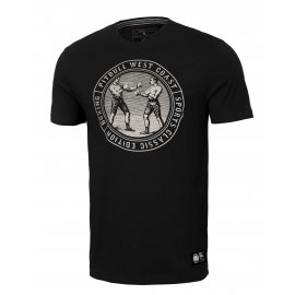 Koszulka Pit Bull Garment Washed Vintage Boxing '21 - Czarna