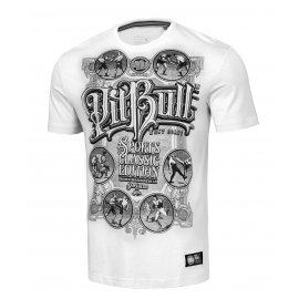 Koszulka Pit Bull Garment Washed Multisport '21 - Biała