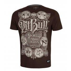 Koszulka Pit Bull Garment Washed Multisport '21 - Bordowa