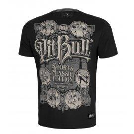 Koszulka Pit Bull Garment Washed Multisport '21 - Czarna