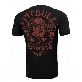 Koszulka Pit Bull Garment Washed San Diego 89 '21 - Czarna