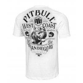 Koszulka Pit Bull Garment Washed San Diego 89 '21 - Biała