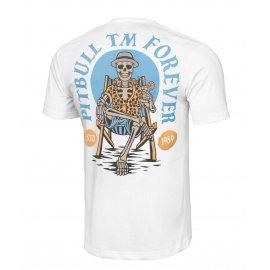 Koszulka Pit Bull Garment Washed Pitbull Forever '21 - Biała