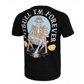 Koszulka Pit Bull Garment Washed Pitbull Forever '21 - Czarna