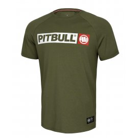 Koszulka Pit Bull Spandex Hilltop '21 - Oliwkowa