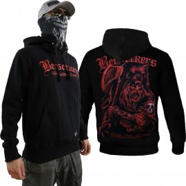 Bluza z kapturem Pit Bull BT Digital Berserkers - Czarna