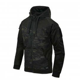 Bluza z Kapturem Helikon ROGUE Hoodie (FullZip) MultiCam Black