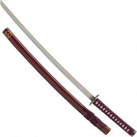 Miecz Haller Katana Samurajska z drewniana pochwą