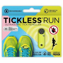 Odstraszacz kleszczy TickLess Run dla biegaczy UV Yellow