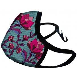 Maska antysmogowa DRAGON Casual  SE Floral Pink XL