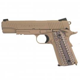 Pistolet 6mm Cybergun GBB Colt M45A1 Tan