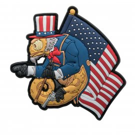 Emblemat Helikon Chameleon Uncle Cham Operator
