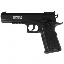 Wiatrówka Cybergun Swiss Arms P1911 Match 4,5 mm