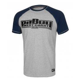 Koszulka Pit Bull Garment Washed Raglan Boxing '21 - Szara/Granatowa