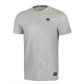 Koszulka Pit Bull Denim Washed Small Logo '21 - Szara