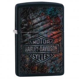 Zapalniczka ZIPPO Harley-Davidson Black Matte