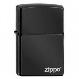 Zapalniczka ZIPPO Ebony with Zippo logo