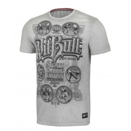 Koszulka Pit Bull Denim Washed Multisport '21 - Szara