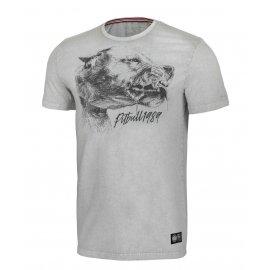 Koszulka Pit Bull Denim Washed Shlimock '21 - Szara