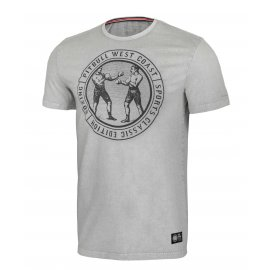 Koszulka Pit Bull Denim Washed Vintage Boxing '21 - Szara