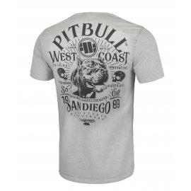 Koszulka Pit Bull Denim Washed San Diego 89 '21 - Szara