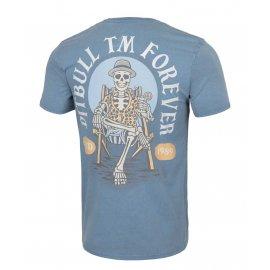 Koszulka Pit Bull Denim Washed Pitbull Forever '21 - Niebieska