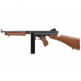wiatrówka - pistolet maszynowy Thompson Legends M1A1 4,5 mm full-auto złoty
