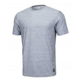 Koszulka Pit Bull Casual Sport No Logo '21 - Szary Melanż