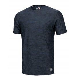 Koszulka Pit Bull Casual Sport No Logo '21 - Granatowy Melanż