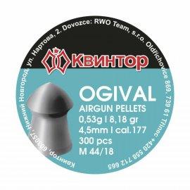 Śrut Kvintor 4,50mm Ogival 300 szt