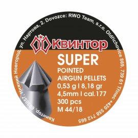 Śrut Kvintor 4,50mm Super Pointed 300 szt